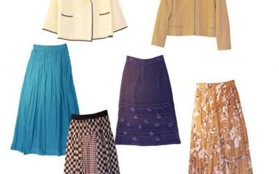 素材とカラーで魅せる羽織のバリエーション